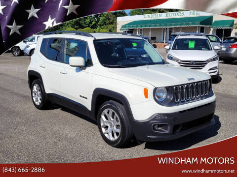 2015 Jeep Renegade for sale at Windham Motors in Florence SC