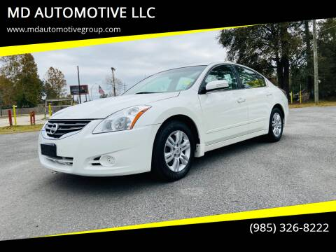 2010 Nissan Altima for sale at MD AUTOMOTIVE LLC in Slidell LA
