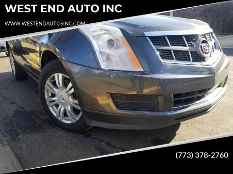 2011 Cadillac SRX for sale at WEST END AUTO INC in Chicago IL