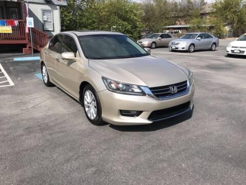 2013 Honda Accord for sale at Auto Solution in San Antonio TX