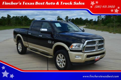 2016 RAM Ram Pickup 2500 for sale at Fincher's Texas Best Auto & Truck Sales in Tomball TX