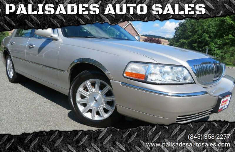 2008 Lincoln Town Car for sale at PALISADES AUTO SALES in Nyack NY