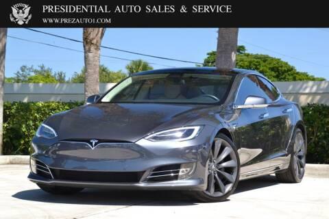 2017 Tesla Model S for sale at Presidential Auto  Sales & Service in Delray Beach FL