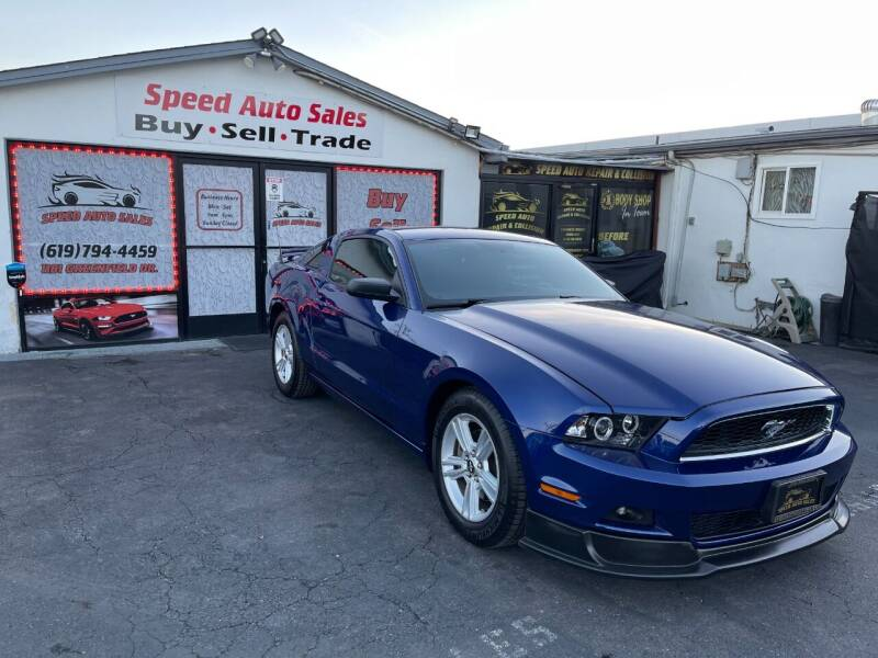 2014 Ford Mustang for sale at Speed Auto Sales in El Cajon CA