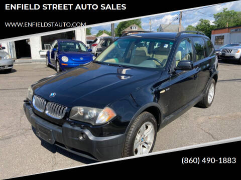 2004 BMW X3 for sale at ENFIELD STREET AUTO SALES in Enfield CT