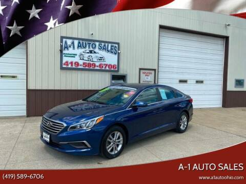2017 Hyundai Sonata for sale at A-1 AUTO SALES in Mansfield OH
