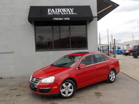 2008 Volkswagen Jetta for sale at FAIRWAY AUTO SALES, INC. in Melrose Park IL