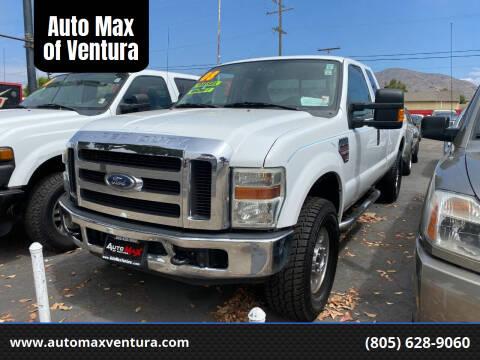 2008 Ford F-250 Super Duty for sale at Auto Max of Ventura in Ventura CA