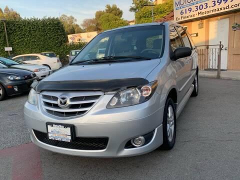 2005 Mazda MPV for sale at MotorMax in Lemon Grove CA