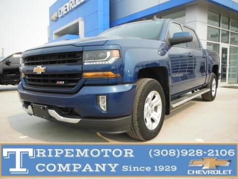 2018 Chevrolet Silverado 1500 for sale at Tripe Motor Company in Alma NE