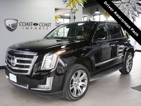 2015 Cadillac Escalade for sale at Coast to Coast Imports in Fishers IN