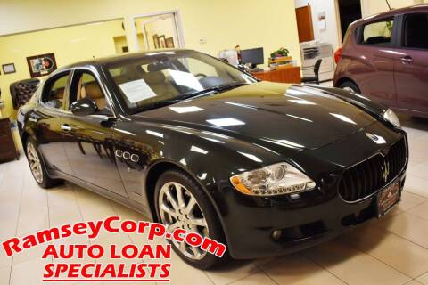 2009 Maserati Quattroporte for sale at Ramsey Corp. in West Milford NJ