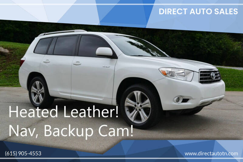 2008 Toyota Highlander for sale at Direct Auto Sales in Franklin TN