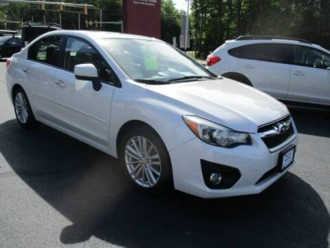 2013 Subaru Impreza for sale at Route 4 Motors INC in Epsom NH