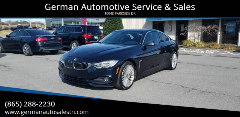 2014 BMW 4 Series for sale at German Automotive Service & Sales in Knoxville TN