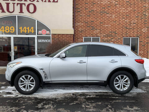 2012 Infiniti FX35 for sale at Professional Auto Sales & Service in Fort Wayne IN