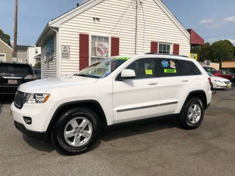 2013 Jeep Grand Cherokee for sale at Crown Auto Sales in Abington MA