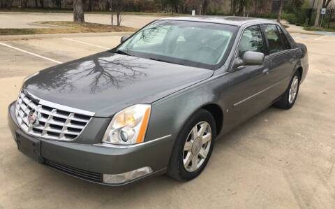 2006 Cadillac DTS for sale at Safe Trip Auto Sales in Dallas TX