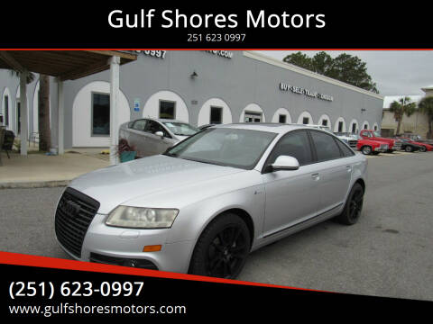 2011 Audi A6 for sale at Gulf Shores Motors in Gulf Shores AL