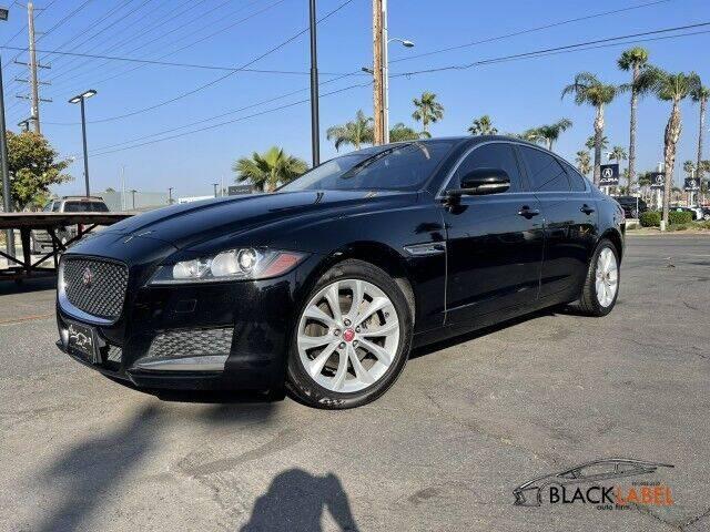 2018 Jaguar XF for sale at BLACK LABEL AUTO FIRM in Riverside CA