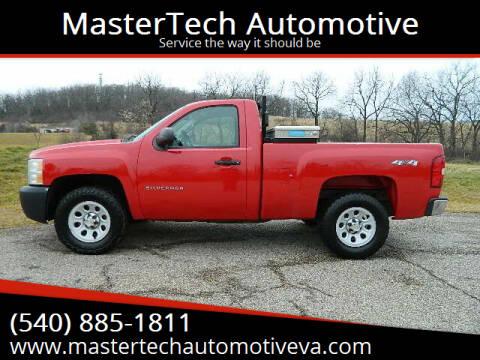 2010 Chevrolet Silverado 1500 for sale at MasterTech Automotive in Staunton VA