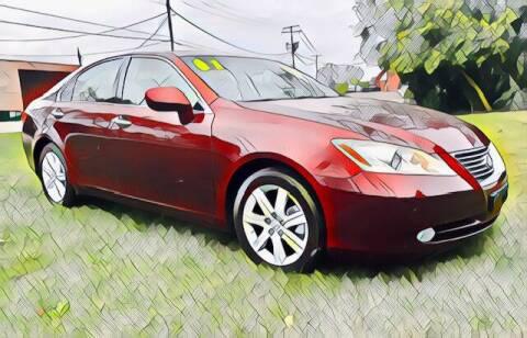 2007 Lexus ES 350 for sale at Del Sol Auto Mart in Des Plaines IL
