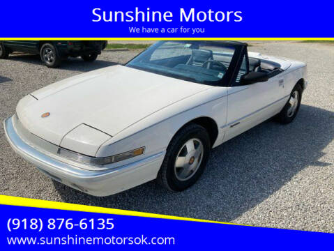 1990 Buick Reatta for sale at Sunshine Motors in Bartlesville OK
