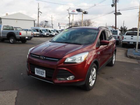 2014 Ford Escape for sale at Scheuer Motor Sales INC in Elmwood Park NJ