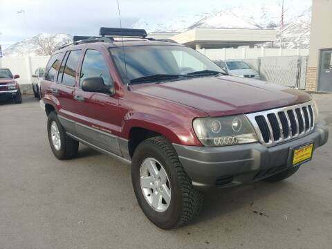 2001 Jeep Grand Cherokee for sale at Canyon Auto Sales in Orem UT
