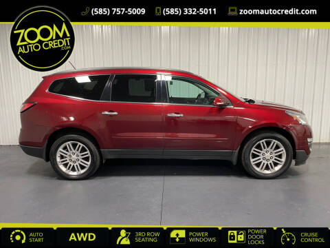 2015 Chevrolet Traverse for sale at ZoomAutoCredit.com in Elba NY