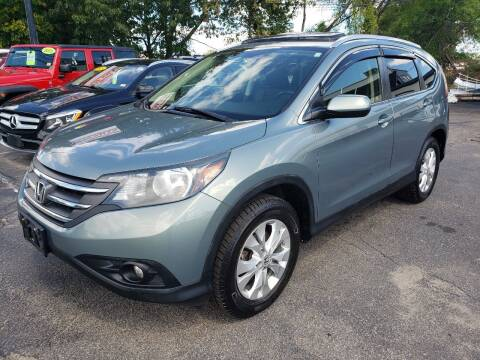 2012 Honda CR-V for sale at Real Deal Auto Sales in Manchester NH