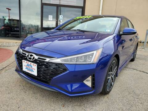 2019 Hyundai Elantra for sale at Auto Wholesalers Of Hooksett in Hooksett NH