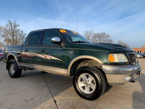 2002 Ford F-150 for sale at Victory Motors in Waterloo IA