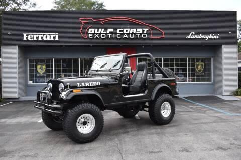 1978 Jeep CJ-7 for sale at Gulf Coast Exotic Auto in Biloxi MS