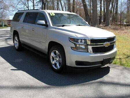 2015 Chevrolet Suburban for sale at RICH AUTOMOTIVE Inc in High Point NC