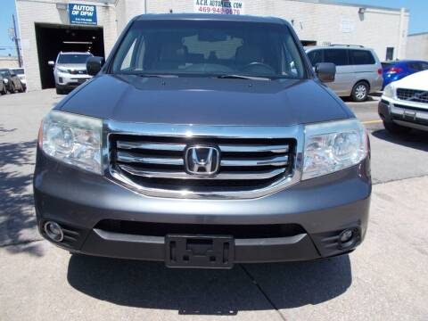 2013 Honda Pilot for sale at ACH AutoHaus in Dallas TX