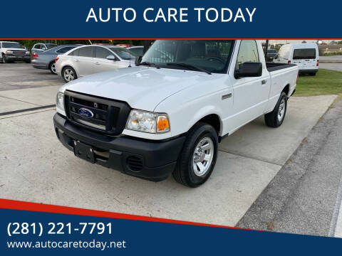 2011 Ford Ranger for sale at AUTO CARE TODAY in Spring TX