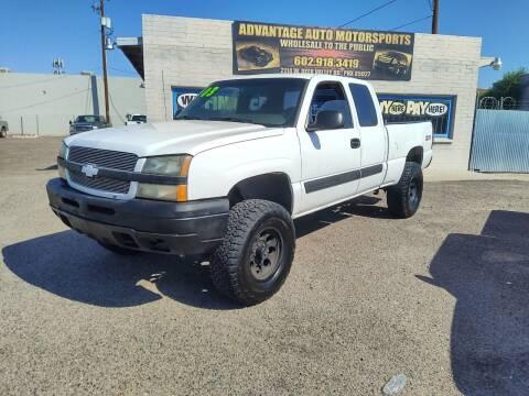 2003 Chevrolet Silverado 1500 for sale at Advantage Auto Motorsports in Phoenix AZ