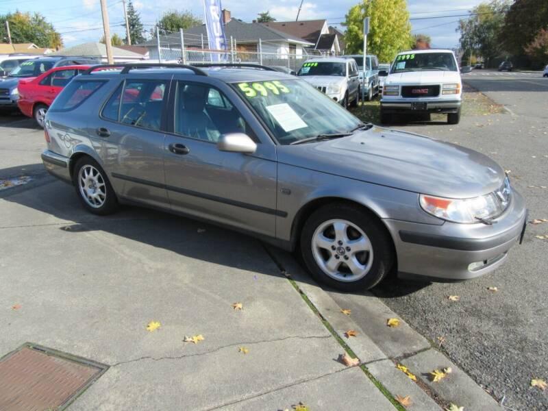 2001 Saab 9-5 for sale at Car Link Auto Sales LLC in Marysville WA