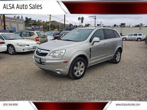 2008 Saturn Vue for sale at ALSA Auto Sales in El Cajon CA