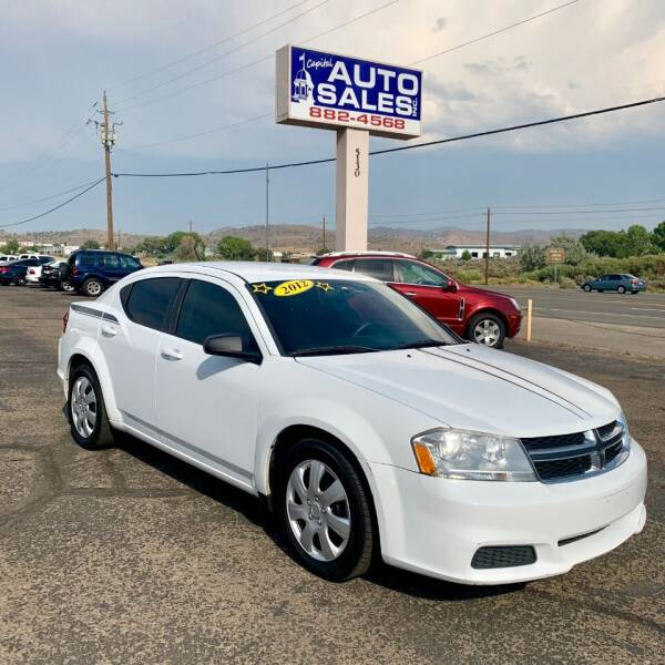 2012 Dodge Avenger for sale at Capital Auto Sales in Carson City NV
