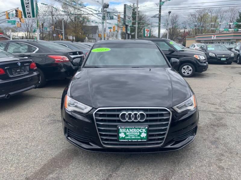 2015 Audi A3 for sale at Park Avenue Auto Lot Inc in Linden NJ