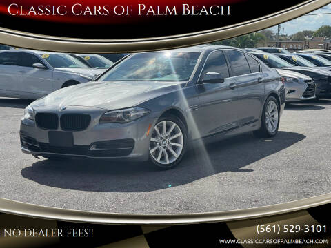 2014 BMW 5 Series for sale at Classic Cars of Palm Beach in Jupiter FL