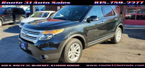 2015 Ford Explorer for sale at ROUTE 31 AUTO SALES in McHenry IL