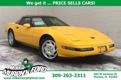 1994 Chevrolet Corvette for sale at Mike Murphy Ford in Morton IL