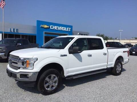 2019 Ford F-150 for sale at LEE CHEVROLET PONTIAC BUICK in Washington NC