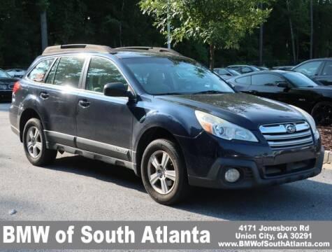 2013 Subaru Outback for sale at Carol Benner @ BMW of South Atlanta in Union City GA