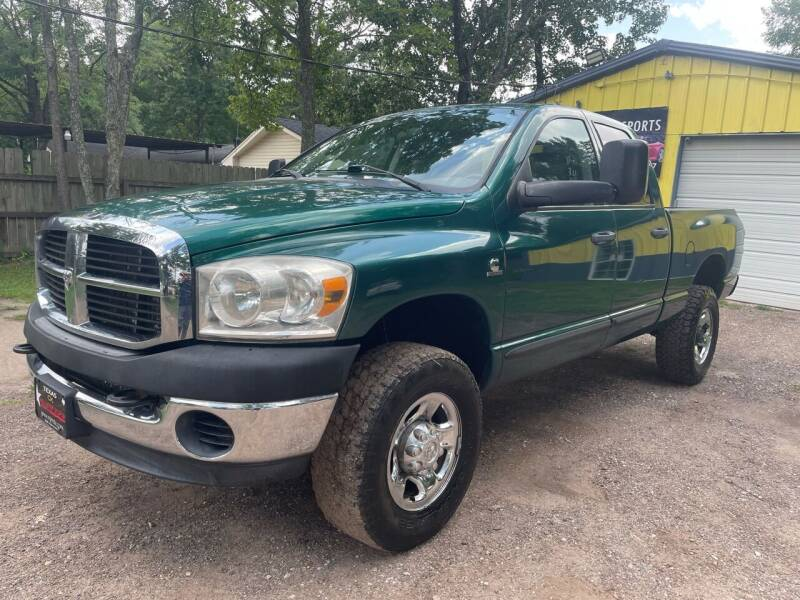 2008 Dodge Ram Pickup 2500 for sale at M & J Motor Sports in New Caney TX