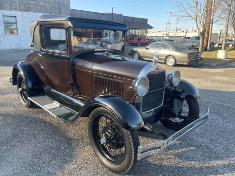 1929 Ford Model A for sale at Black Tie Classics in Stratford NJ
