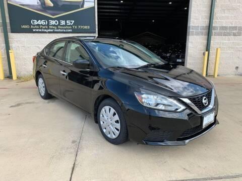 2016 Nissan Sentra for sale at KAYALAR MOTORS in Houston TX